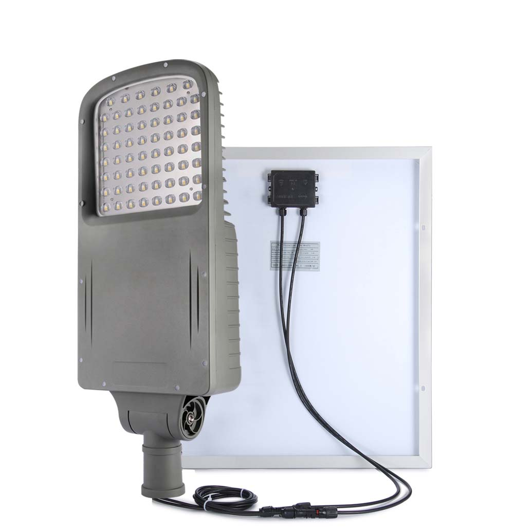 cylinder solar led street lighting 120w