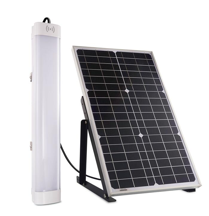 Solar Powered Batten Light